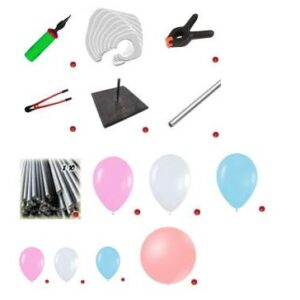 KIT I LIVELLO -ECONOMICO PER CORSO BALLOON ART ON LINE