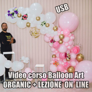 USB-VIDEO-CORSO-BALLOON-ART-ORGANIC-ON-LINE