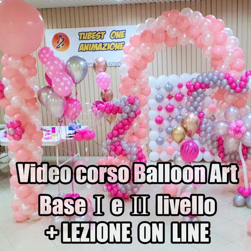 VIDEO CORSO BALLOON ART ON LINE