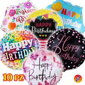 Palloncini a tema Happy birthday in offerta